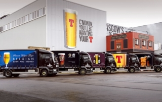 Tennent's Brewery Trucks.   6/2/17  Picture © Andy Buchanan 2017